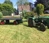 !! 2 to zweiachs Drehschemel Traktor Anhänger zu verkaufen!! - Loxstedt