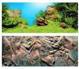 Juwel Aquarium Hintergrund Poster Pflanzen/Steine Länge 150 cm x Höhe 60 cm - Verden (Aller)