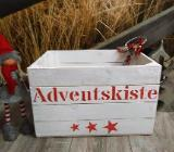 Adventskiste,Holzkiste,Adventskalender,Kalender Holz,Weihnachten,Weihnachtdeko,Weihnachtskiste,Weihnachtsdekoration - Stuhr