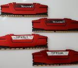 Arbeitsspeicher RAM G.Skill Ripjaws V 16 GB (4x4 GB) DDR4-2133 - Bremen