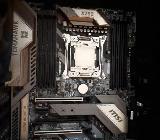 Bundle CPU Intel Core i7 7800X + Mainboard MSI X299 Tomahawk OVP - Bremen