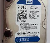 Festplatte HDD 2 TB von WD - Bremen