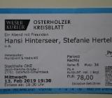 Hansi Hinterseer 13.02.19 in OHZ - Hambergen