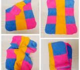 Puppendecke Teddydecke aus Fleece Handarbeit - Zeven
