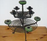 Etagere Kerzenhalter (Eisen), für 9 Kerzen, ca 40x40cm - Bremen