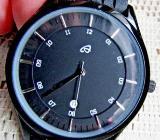 "Flache Marken-Armbanduhr ""Auriol"", 5 BAR, mit Kautschuk-Armband, ungetragen (neu) - Diepholz"