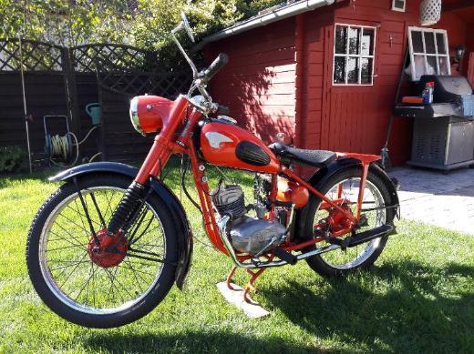 Ardie B125, 125ccm, BJ 1951 Oldtimer, HU NEU, Fahrbereit