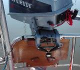 Verkaufe gebrauchten, gepflegten Evinrude 2-Takt-Außenbordmotor 4 PS - Ottersberg
