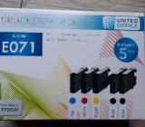 Druckerpstronen für Epson Drucker von Lidl - Selsingen