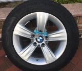 4 Original BMW Felgen 16Zoll mit Dunlop M&S - Bremen