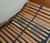 Bett 180 x 200 mit Lattenrosten (eine mit Fernbedinung) und 2 Nachtschränkchen - Verden (Aller)