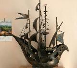 Schiff aus Eisen * Unikat * Handarbeit - Bremen