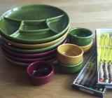 Fondue Set Keramik - Langwedel (Weser)