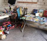 Wir räumen auf Autoteile, die Boot mit Zubehör, Spielzeug und Weihnachtsdeko - Berne