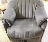 NEU: Stoff Sessel namenhaften italienischen Hersteller mit Wipp Funktion - Delmenhorst