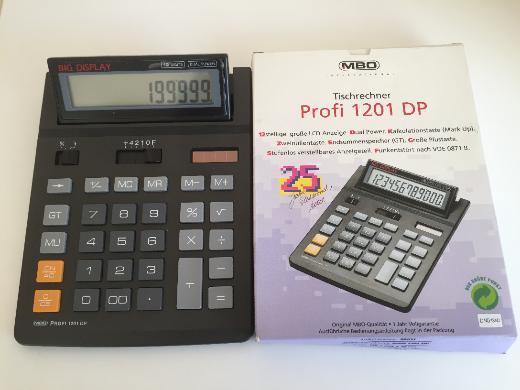 MBO solar Tischrechner Profi 1201 DP - NEU - - Bremen