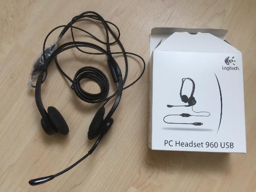 Hochwertiges Headset Logitech PC 960 Stereo -NEU- - Bremen