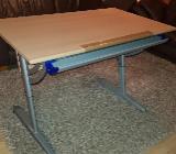 Schreibtisch Kinderschreibtisch Paidi höhenverstellbar Buche - Bremen