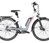 "ZEMO ZE-8R E-Bike 28"" 46cm weiß rot 8-Gang 2017 - Friesoythe"
