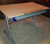 Schreibtisch Kinderschreibtisch Paidi höhenverstellbar Buche - Stuhr