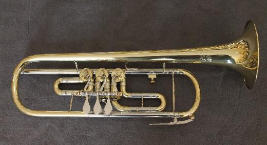 Deutsche Erhart Todt B - Konzert - Trompete inkl. Koffer