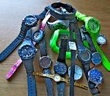 Uhren-Konvolut, 4 Stck., Marken-Armbanduhren, evtl. für Bastler, Uhrmacher!? - Diepholz