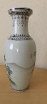 Handbemalte Vase - Bremen