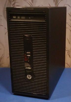 Internet-/Office-/Media-PC # HP ProDesk 490 G2 MT # 128 GB SSD + 1000 GB HDD # Windows10 Pro