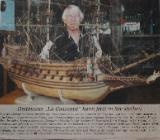 Sehr großes Segelschiffmodell - Bremen Obervieland