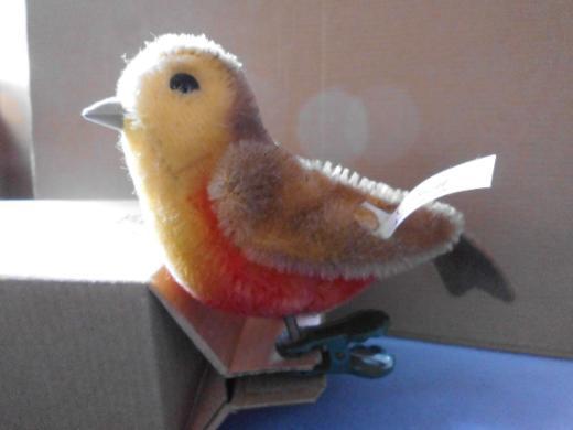 Steiff Weihnachts-Baum-Vogel