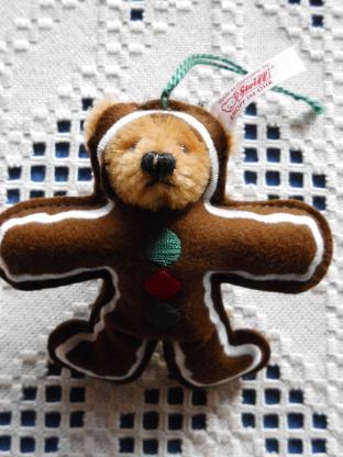 Steiff Weihnachtsbaum Lebkuchenbär