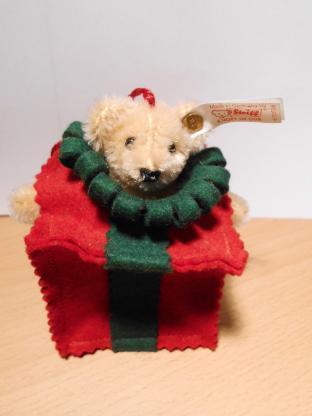 Steiff Weihnachtsbaum Bär