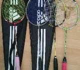 Gut-Gebrauchte Badmintonschläger/Bags für Schul- Vereinsspieler/innen - Oldenburg (Oldenburg)