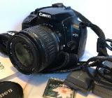 Canon 400D mit Objektiv EF-S 18-55 mm - Bremen