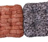 DANDLER Sitzkissen, Stones und Bricks, bunt, 40 x 40 x 8 cm - Delmenhorst