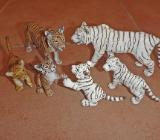 diverse Schleich Tiger Tigerjungen weiß - Bremen
