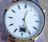 "Marken-FUNK-Armbanduhr ""LEXOR"", 5 BAR, komplett aus Edelstahl ""Bicolor"", neuwertiger Zustand! - Diepholz"