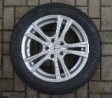 Verkaufe 4 Bridgestone Winterreifen mit Leichtmetallfelgen - Bremen