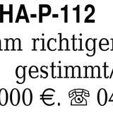 Klavier YAMAHA-P-112 N, A -