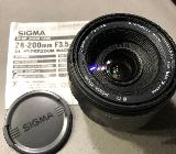 SIGMA Objektiv 28-200 mm - Stuhr