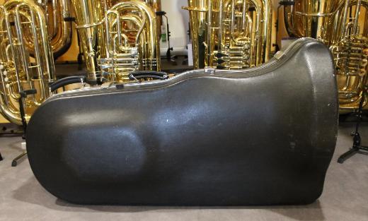 Große Schenkelaars Es - Tuba, 4 Ventile, versilbert inkl. Koffer - Bremen Mitte