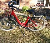 Rotes E-Bike 28 Zoll 7 Gang umständehalber zu verkaufen - Hambergen