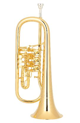 Miraphone 23R Konzert - Flügelhorn aus Goldmessing echt vergoldet - Bremen Mitte