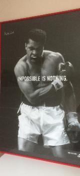 Cassius Clay Kunstdruck / Poster - neuwertig – - Bremen