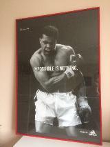 Cassius Clay Kunstdruck / Poster - neuwertig –