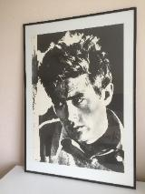 James Dean Kunstdruck / Poster in Museumsqualität - neuwertig –
