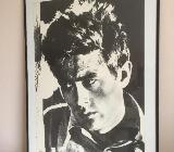 James Dean Kunstdruck / Poster in Museumsqualität - neuwertig – - Bremen