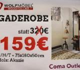 NEU: Gaderobe von Wolfmöbel, Echtholz Akazie - Delmenhorst