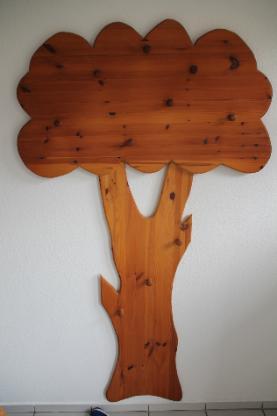 Massivholzgarderobe