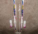 1 Paar Damen Langlauf Skier + Langlaufschuhe Gr.38 - Schwanewede